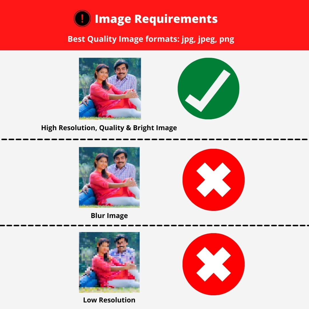 wall photo picture requirement